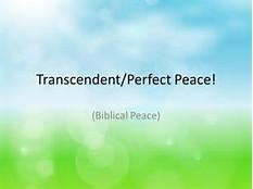 transcendant peace