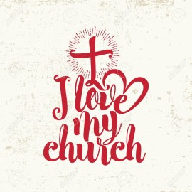 49027112-i-love-my-church-lettering-