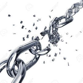 24065630-broken-chain